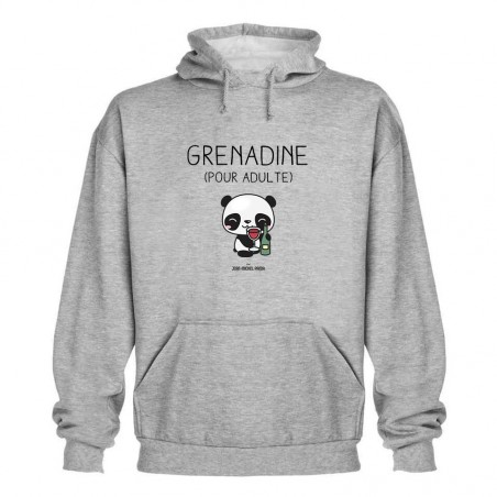 Sweat capuche - Grenadine...