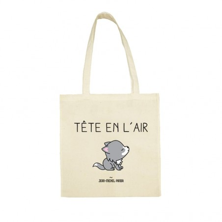 Tote bag - Tête en l'air