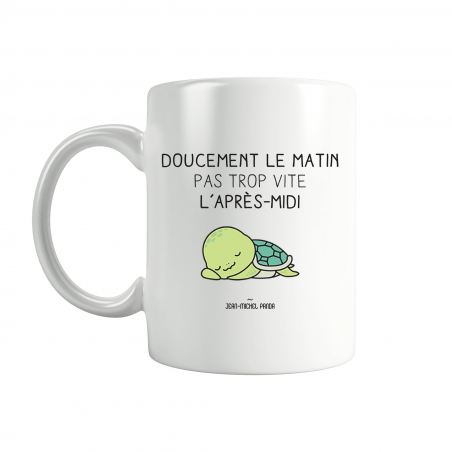 Mug - Doucement le matin...